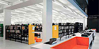 Verney-Municipal-Library-Belgium-with-Tool-5-single-batten-luminaire